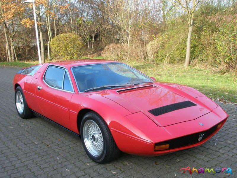 1974 Maserati Bora 4.9 Litre   マセラティ, ボーラ, 車
