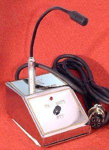 POWER BASE MIC - Small - for 4 Pin CB / Ham Radio - Big