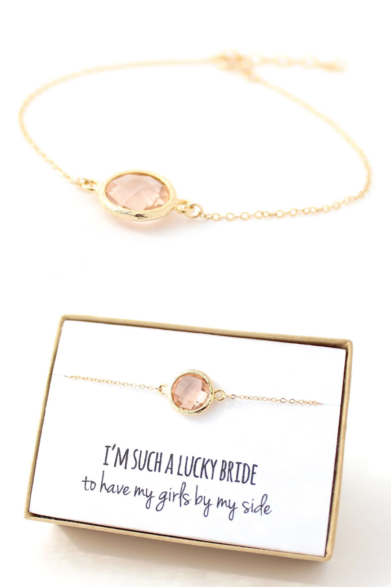 Gold circle bracelet bridesmaid gifts baer wedding pinterest