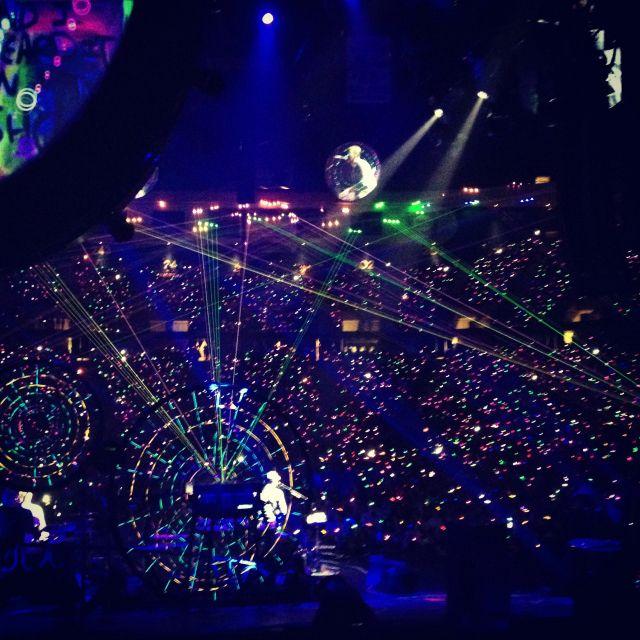 Coldplay at Izod Center