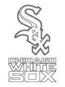 Mlb Coloring Pages Free Coloring Pages White Sox Logo Dolphin