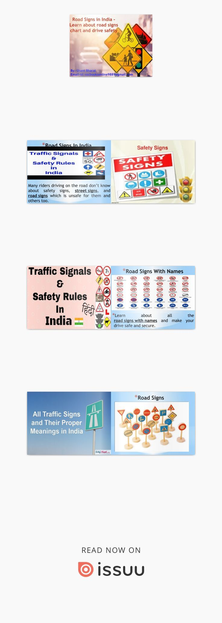 Road Signs In India Learn About Road Signs Chart And