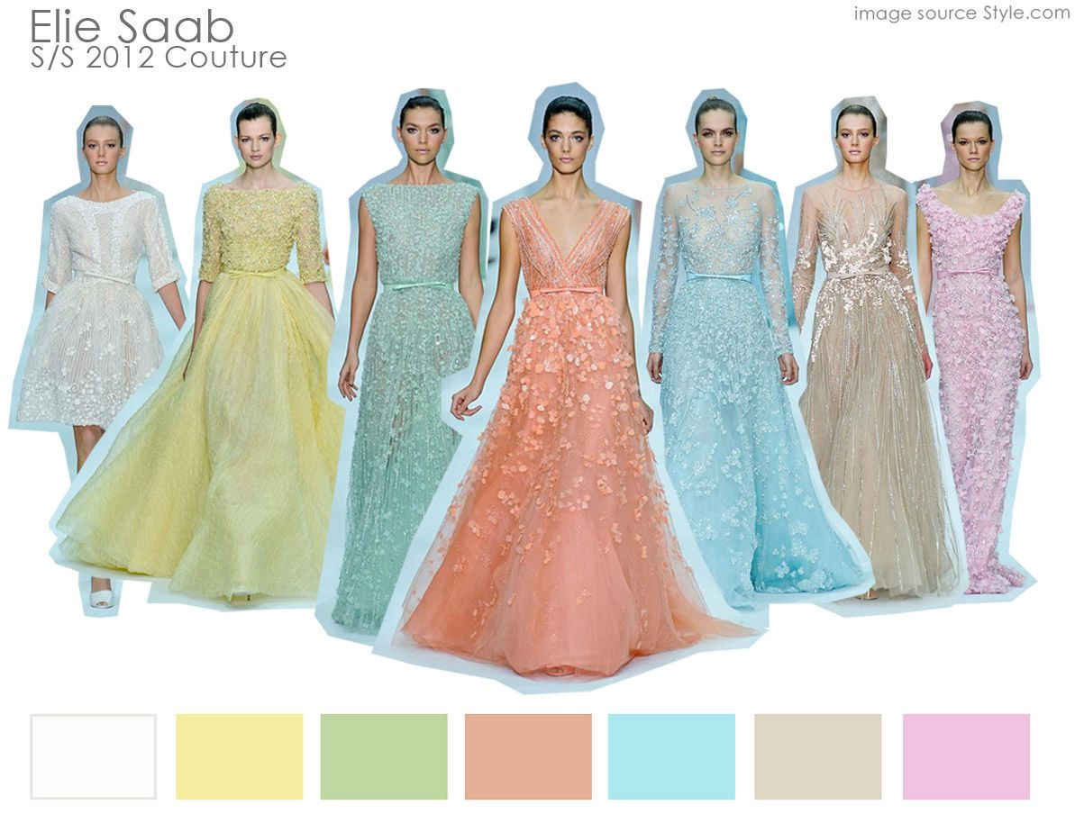 Moodboard: Elie Saab S/S 12 Couture   Fashion   Pinterest