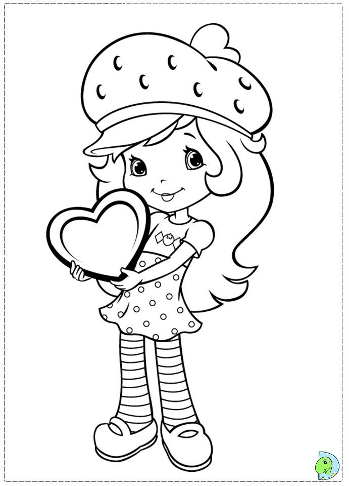 Coloring-pages-strawberry-shortcake-az-coloring-pages.jpg | Coloring ...