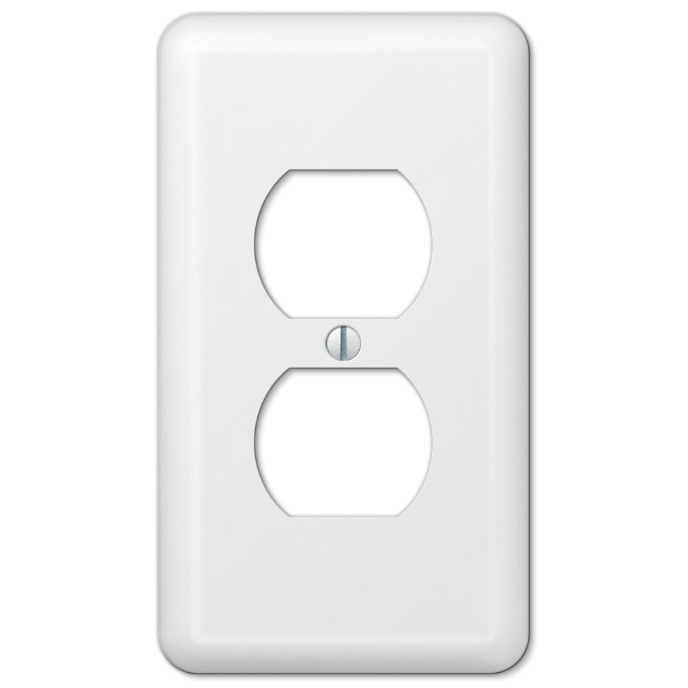 Amerelle Devon 1 Single Duplex Outlet Cover Wall Plate