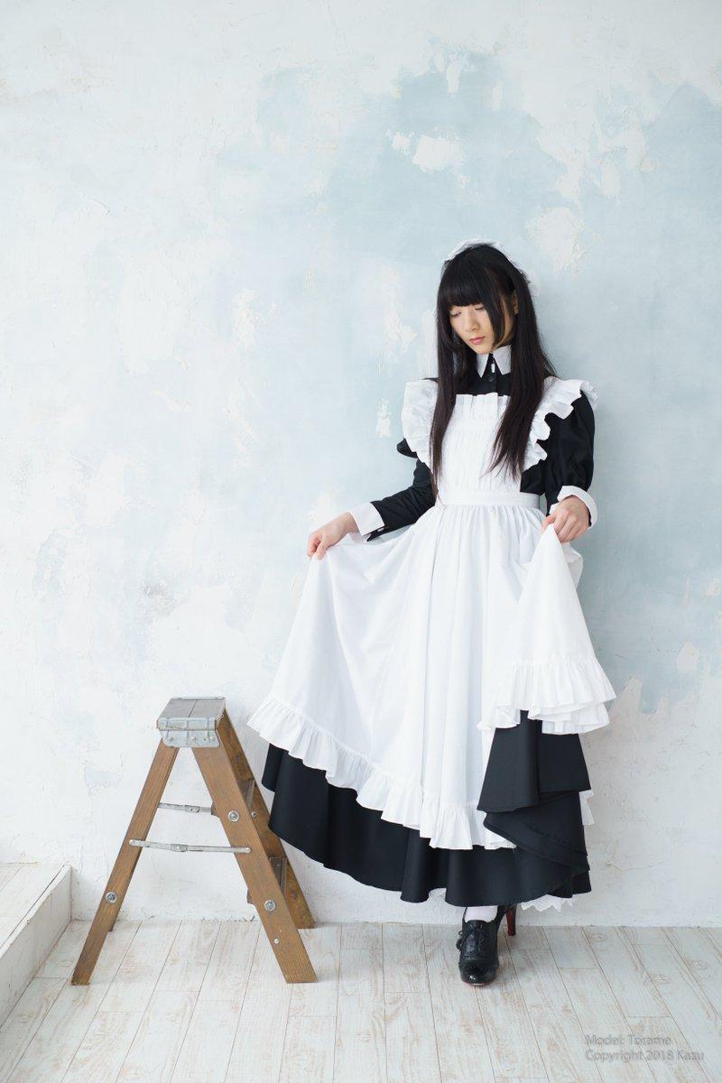 智和@細々活動 on Twitter | Maid costume, Maid dress uniform, Maid ...