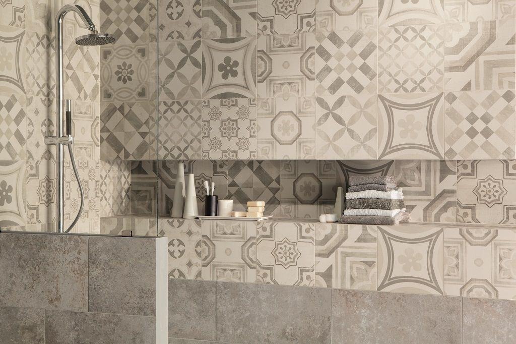 Cementine Bagno ~ Cementine esagonali per il bagno piastrelle cementine con decori