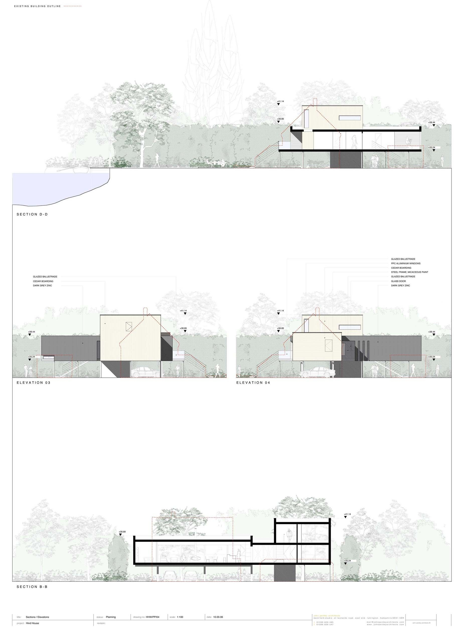 Architectural Drawing Sizes gallery of hind house / john pardey architects - 19 | architects