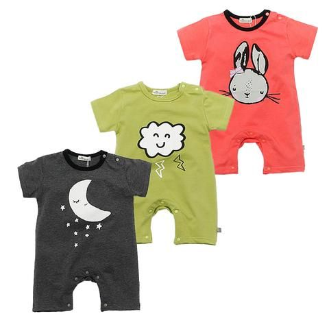 1470e3804a54 Brand Baby Rompers Short Sleeve Cotton Baby Boy Girl Rompers Black ...