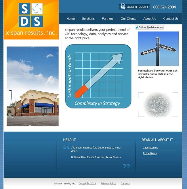 GIS technology, data, analytics and service for commercial real estate