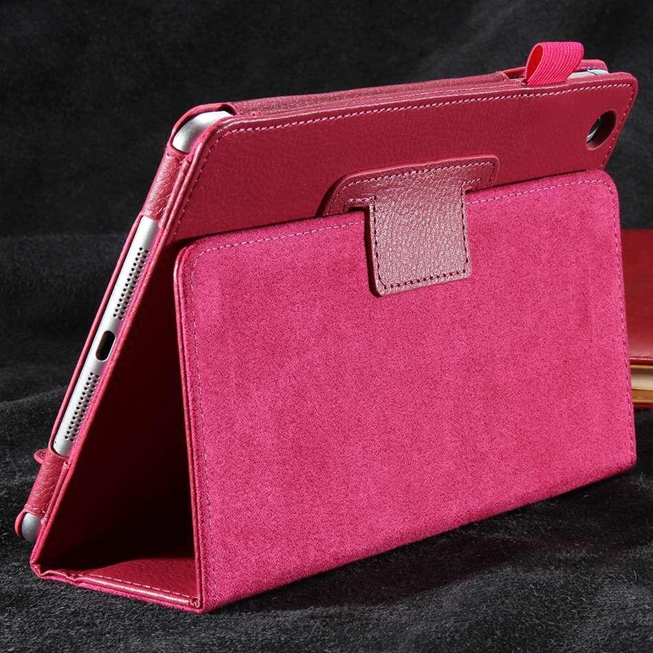 For Apple iPad mini 1 2 3 Retro PU Leather Case Retina Smart Stand Magnetic Sleep Wake UP Pouch Cover For ipad mini1 mini2 mini3