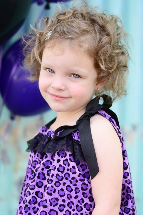 Cute Hairstyles For Short Curly Hair For Kids Party New Hairstyles