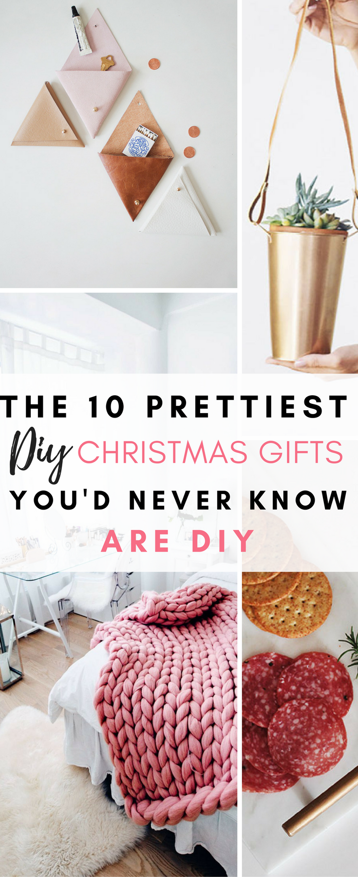These are so gorgeous, and definitely do not look like DIY Christmas gifts in any way shape or form! #diychristmas #diychristmasgift