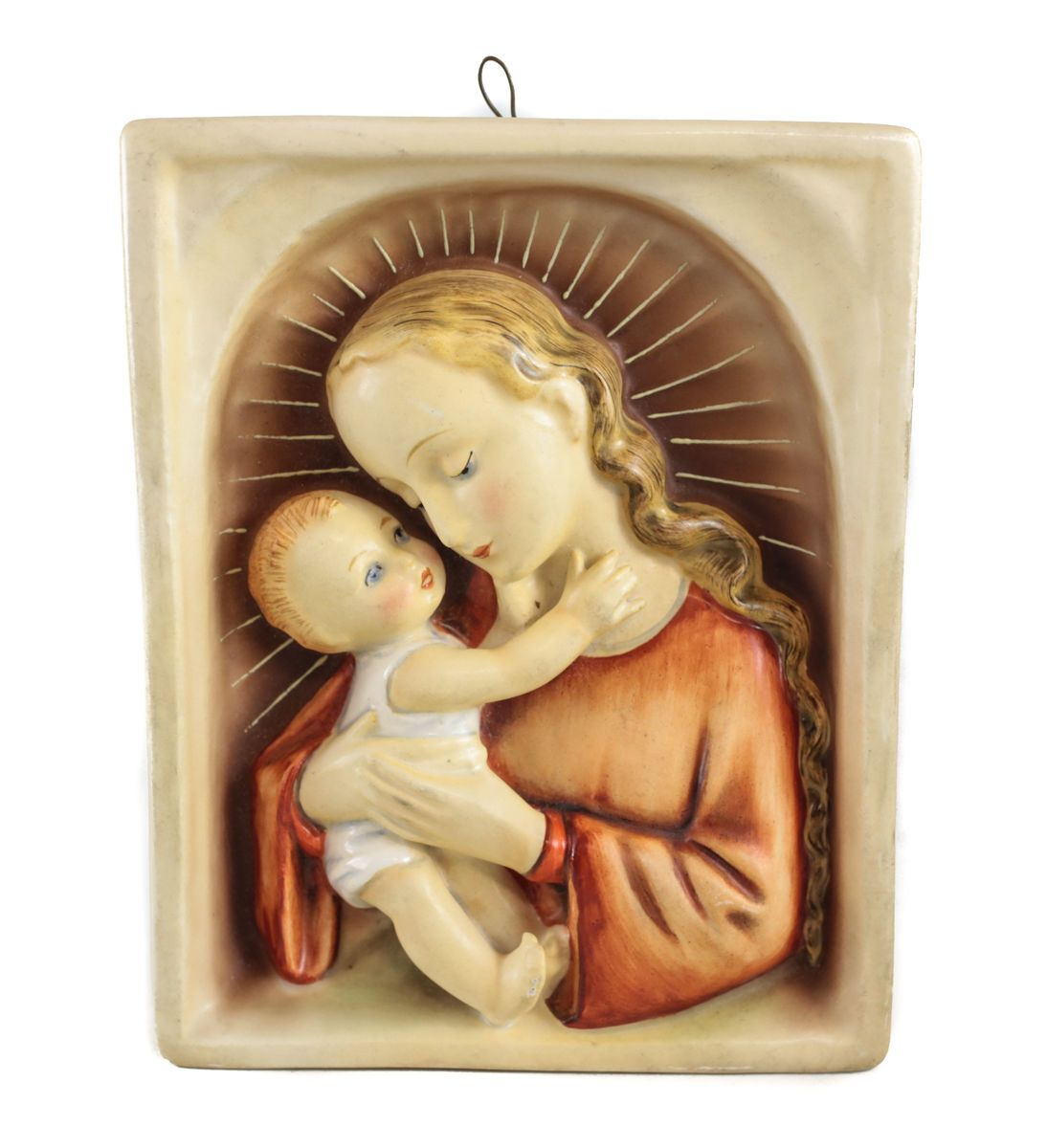 Goebel Hummel Wall Plaque Madonna And Child 48/2 C1936 Tmk-1 Full ...