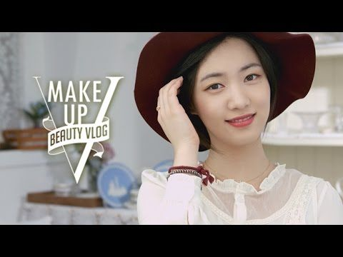 ▶ Hyo young's Beauty Vlog - Burgundy makeup (with subs) 효영의 뷰티블로그 - 버건디메이크업 - YouTube