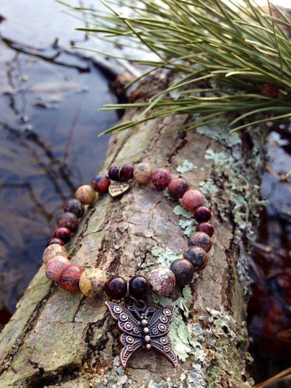 Leopard Jasper Reiki Healing Bracelet  by ReikibyKathieDesigns, $20.00