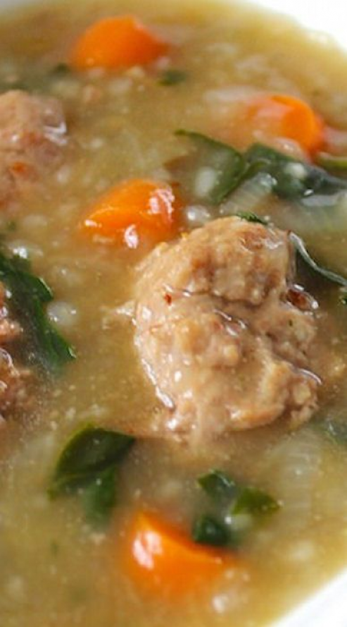 Paleo Instant Pot Italian Wedding Soup paleocrockpot in