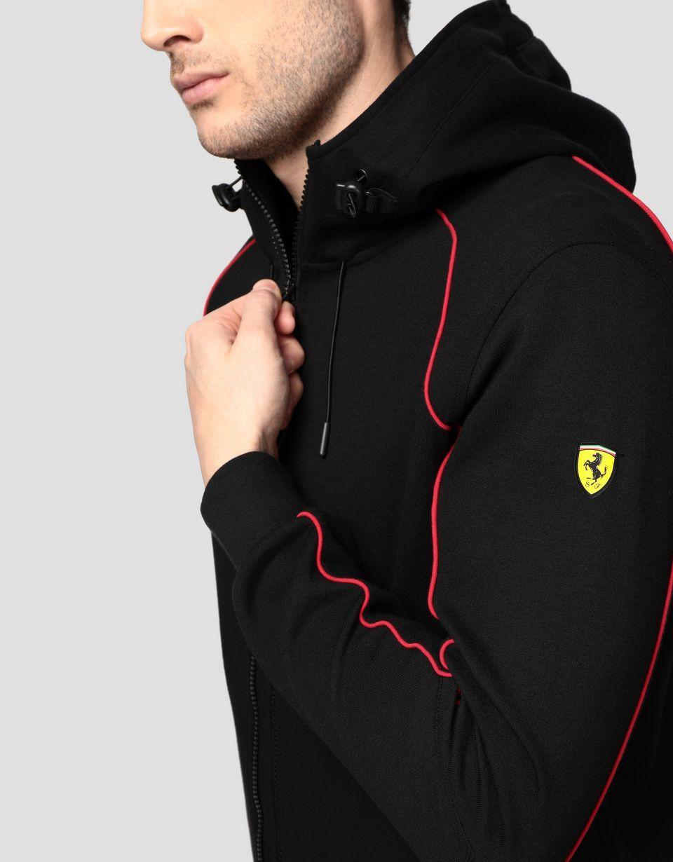 Ferrari Men S Hooded Sweatshirt With Fit System Man Ferrari Store Hooded Sweatshirt Men Hooded Sweatshirts Mens Outdoor Jackets [ 1230 x 960 Pixel ]