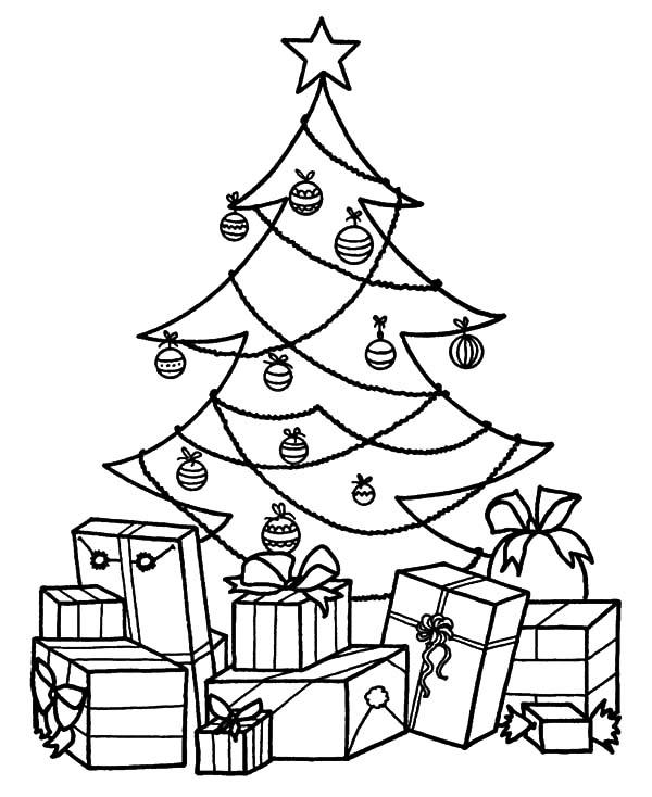 Pin By Kidsplaycolor On Rozhdestvenskaya Elka Christmas Tree Coloring Page Christmas Coloring Pages Tree Coloring Page