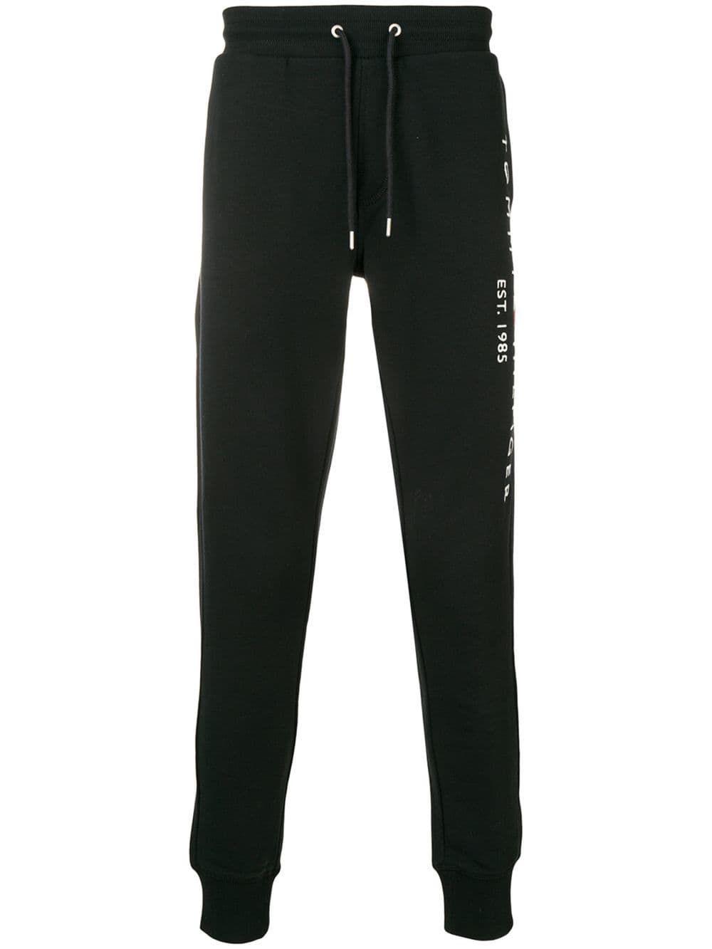 Tommy Hilfiger Logo Track Pants In Black Modesens Tommy Hilfiger Pants Hilfiger