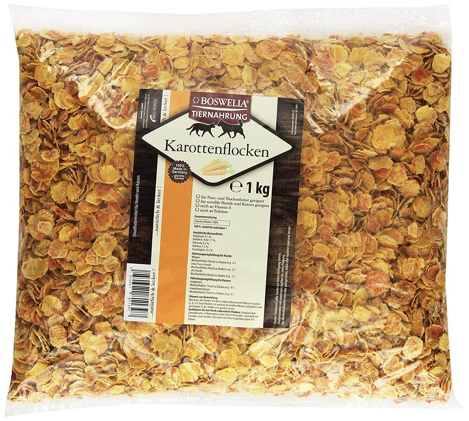 Boswelia Carrot Flakes Single Pack 1 kg *** You can find