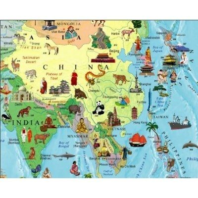 on china state map