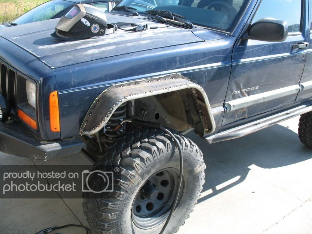Flares on trim fenders - Jeep Cherokee Forum