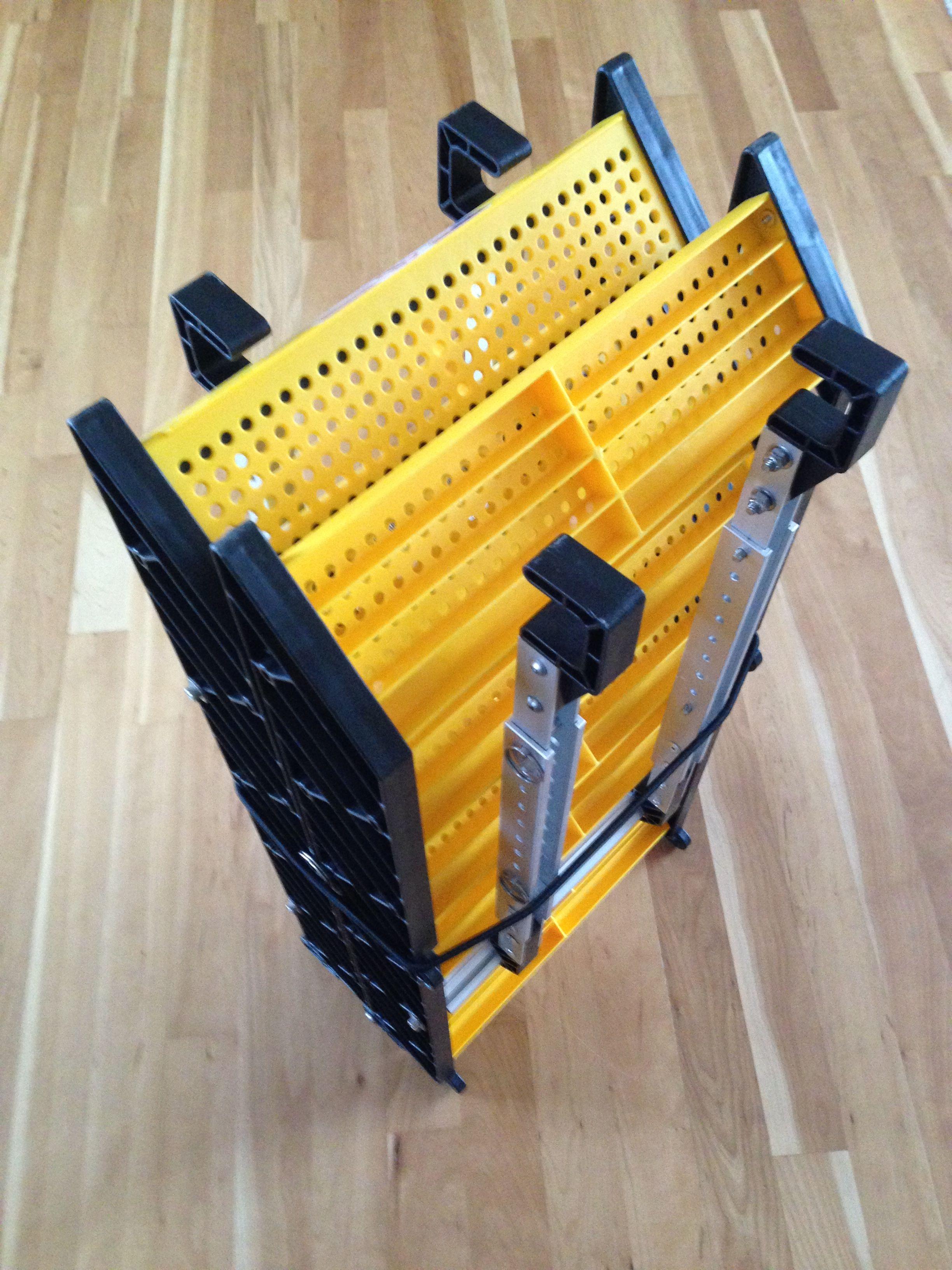 WAG Boarding Steps™ Model SLM-12 Folded for Transport