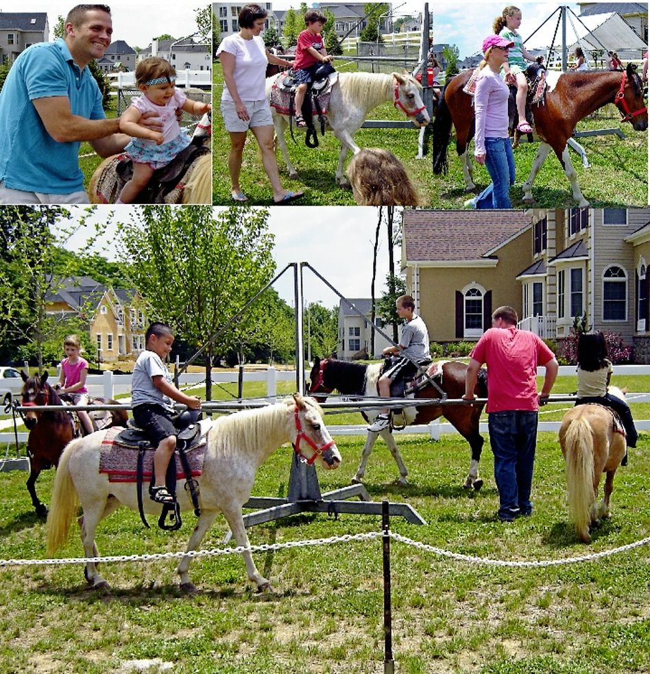 Our 4 pony carousel is great for those larger events when
