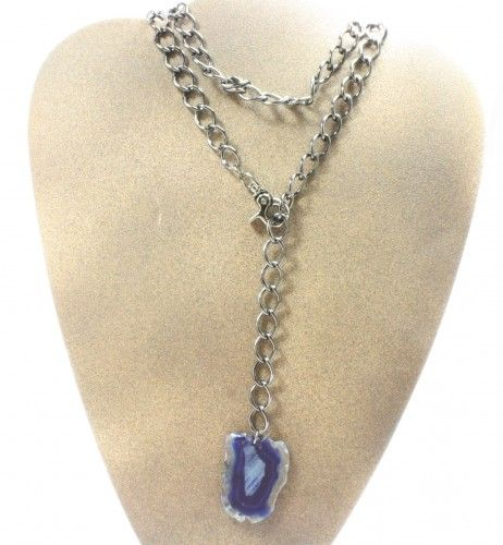 The Beltless Necklace or Belt is our featured product of the day. Agate pendant is available in a variety of colors.