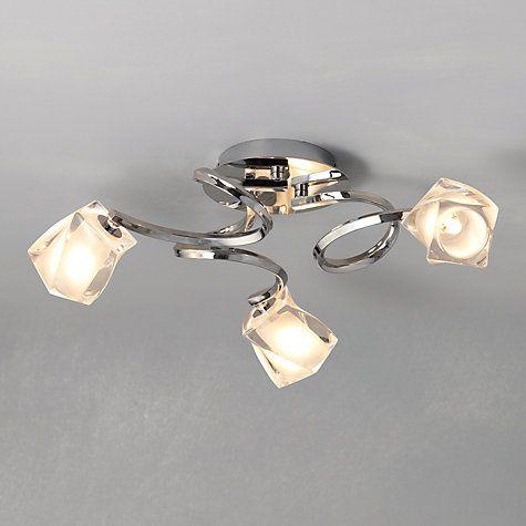 Buy John Lewis Nembus Semi Flush Ceiling Light Online At Johnlewis