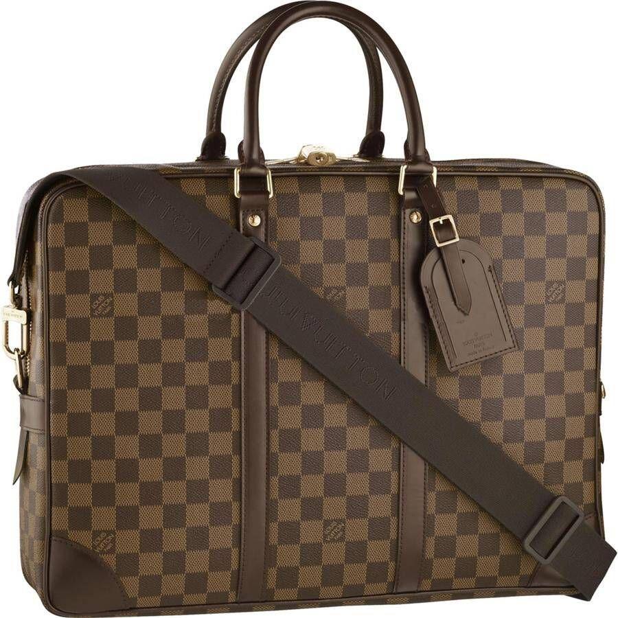 Louis Vuitton Work Bags Damier Ebene Canvas N41122