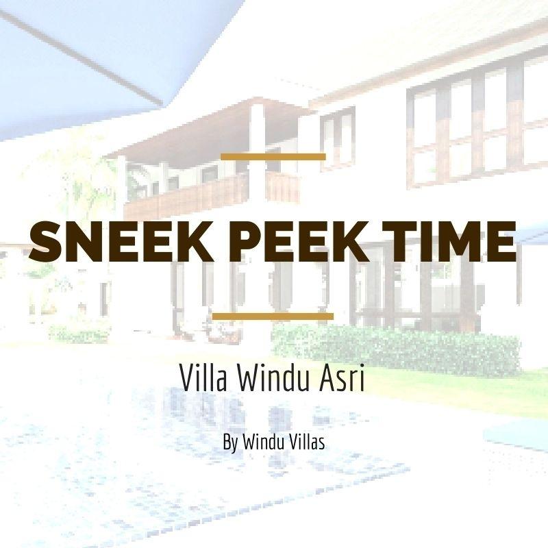 #areyouready? Time for some sneaky shots :) #VillaWinduAsri by #WinduVillas #openingsoon