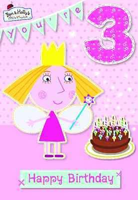 Ben Holly S Little Kingdom You Re 3 3rd Birthday Card New Gift Cards Stationery Celebrations Occasi Ben And Holly Birthday Cards Happy Birthday Fairy