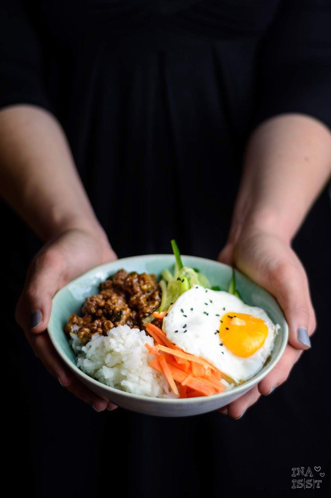 Korean Beef Bowl - Asiatisch mariniertes Fleisch mit ...