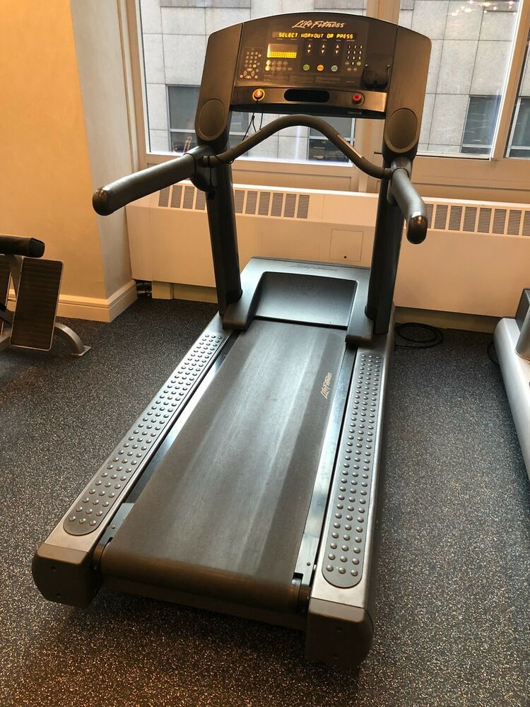 Ad Ebay Life Fitness Integrity Treadmill Clst Cleaned Serviced Treadmills For Sale Fit Life Treadmill