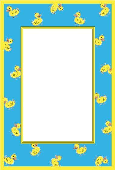Rubber Ducky Frame Scrapbook Children Baby♡nursery