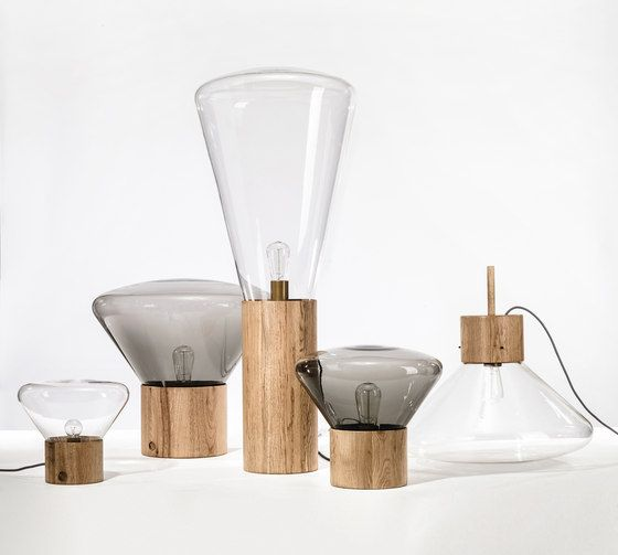 Muffins by Brokis   Table lamp wood, Contemporary floor