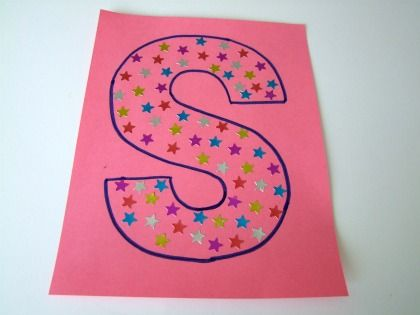 Alphabet Letters – S Craft For Kids! Letter S is for STARS and the Letter S Song for Kids!