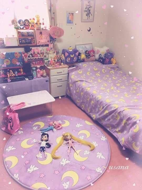 Room Aesthetic Home House Otaku Weeb Decor Relaxation Cute Room Ideas Kawaii Bedroom Girl Bedroom Designs