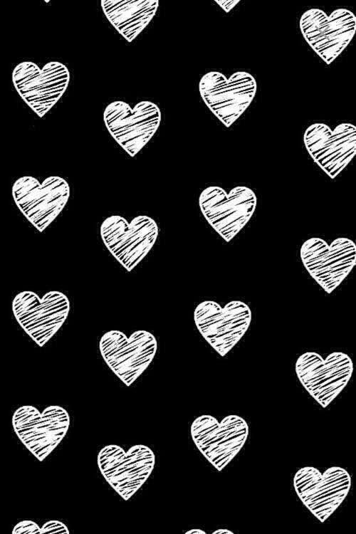 Epingle Par Roxane Boissier Sur Image En 2020 Fond D Ecran Telephone Ecran De Verrouillage Coeur Noir Et Blanc