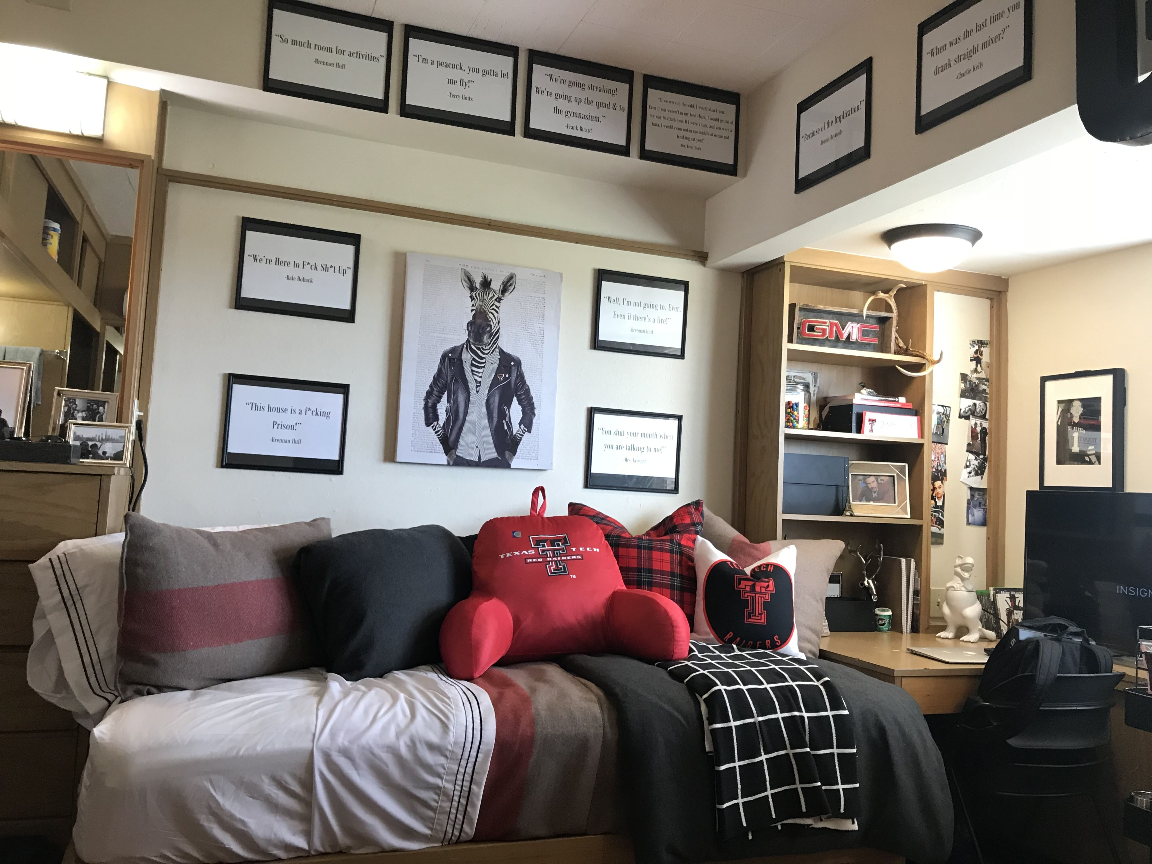 Texas Tech Murdough Dorm | Cool dorm rooms
