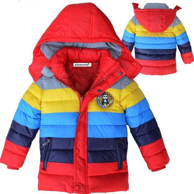 442dab216 kids coat 2017 new Spring Winter Boys Jacket for Boys Children ...