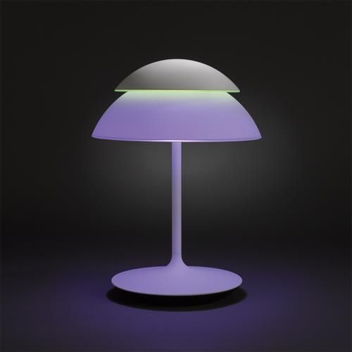 Philips Hue Beyond Tischleuchte Erweiterungsset Light Licht Leuchte Interieurdesign Interieur Lampe Dekorati Lampentisch Weisse Tischlampe Tischleuchte
