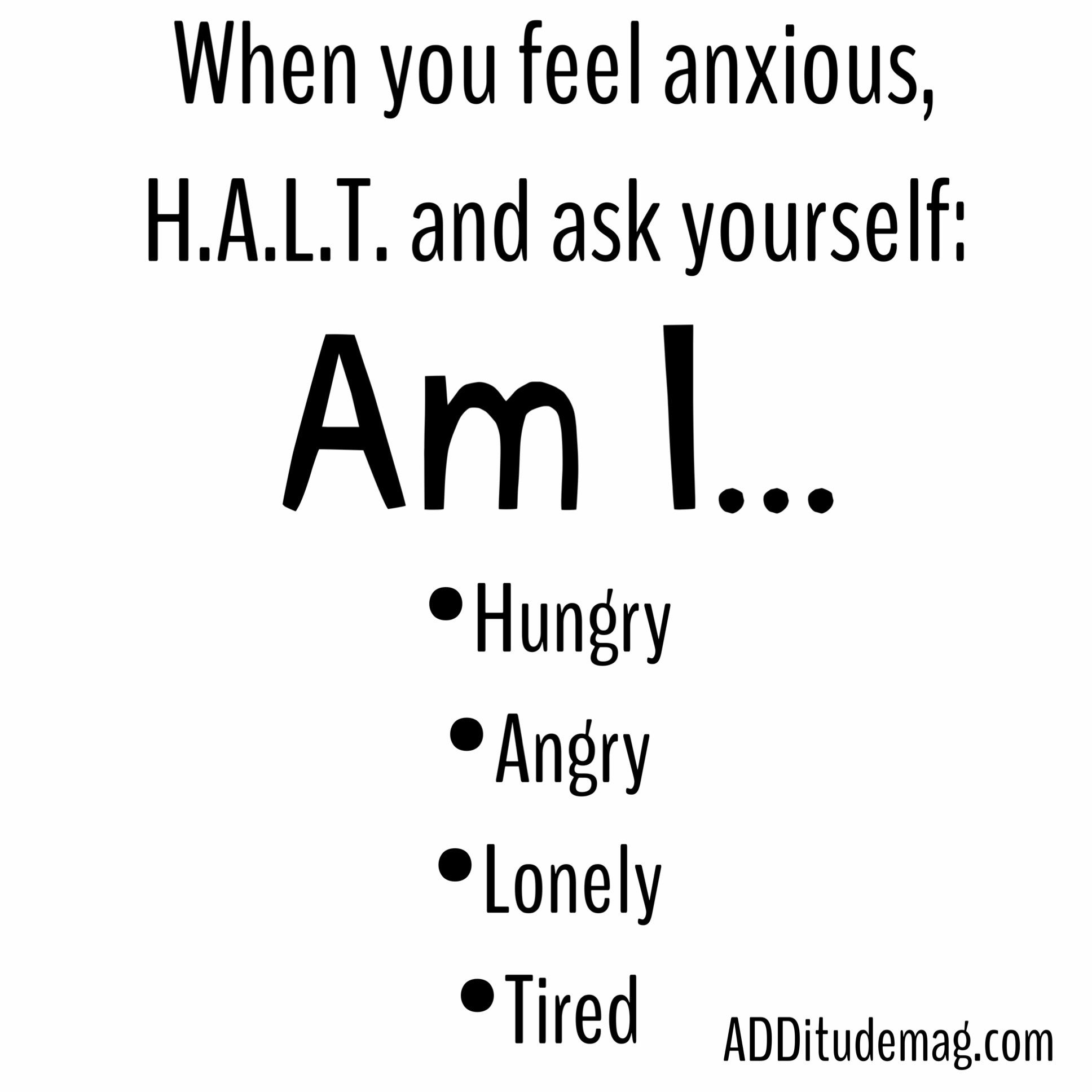 Hungry Angry Lonely Tired Worksheet