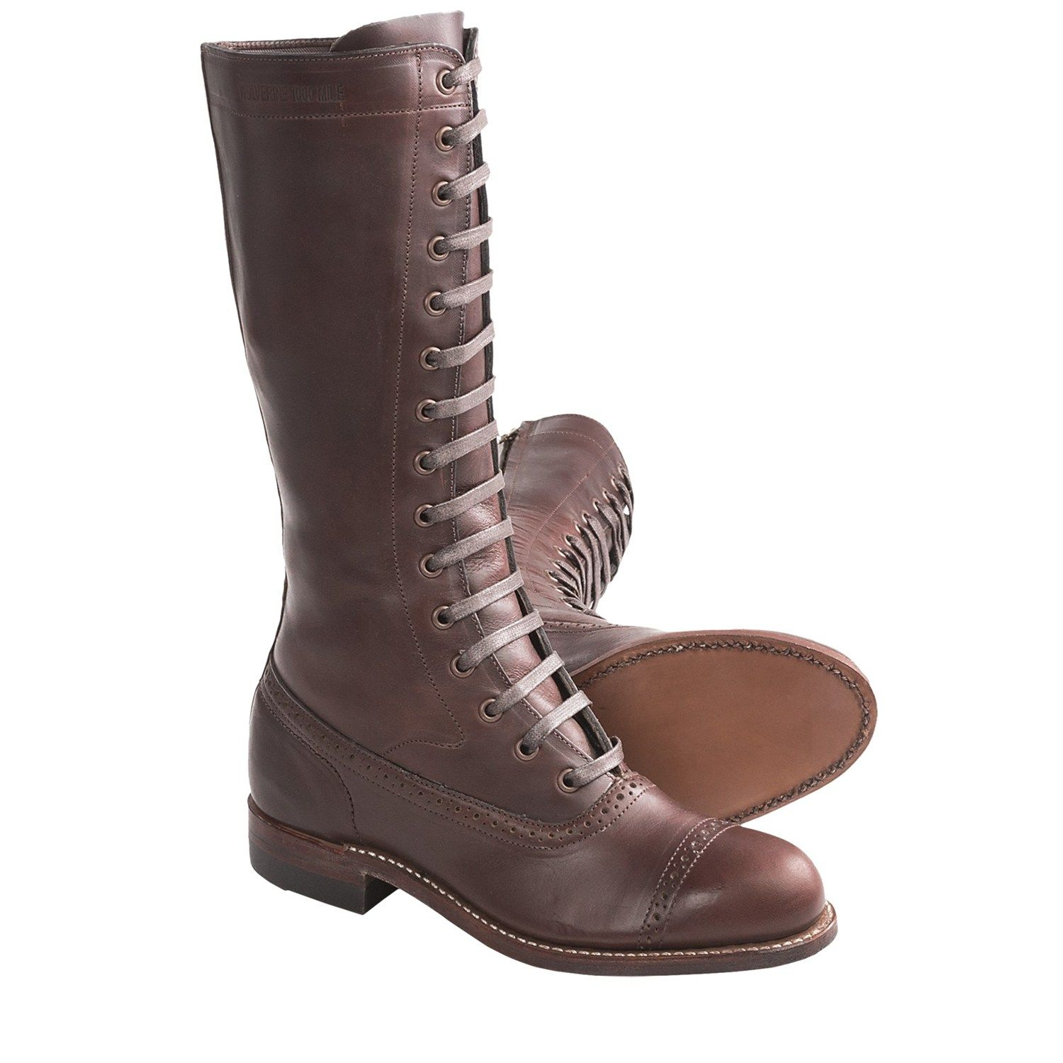 """657bf3e795d Wolverine 1000 Mile Sophia 12"""" Boots - Size Zip, Factory 2nds (For ..."""