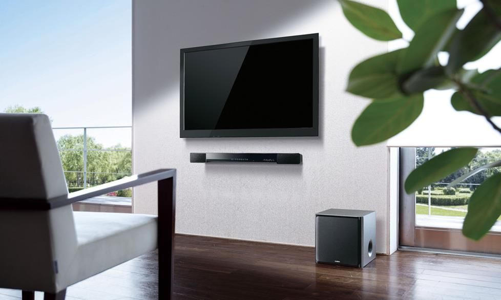 How To Choose A Sound Bar For Your Tv Mounted Tv Ideas Living Rooms Wall Mounted Tv Bars For Home #sound #system #for #living #room