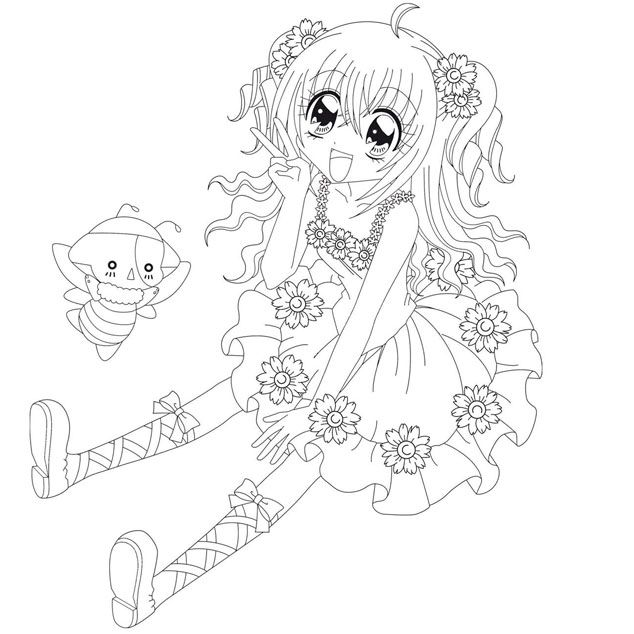 Coloriage kilari manga anime coloring pages - Dessin a imprimer fille ...