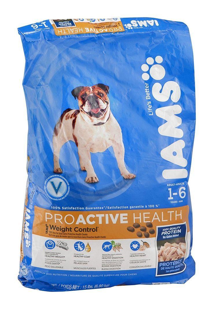 Iams proactive health weight control 16 years dog food