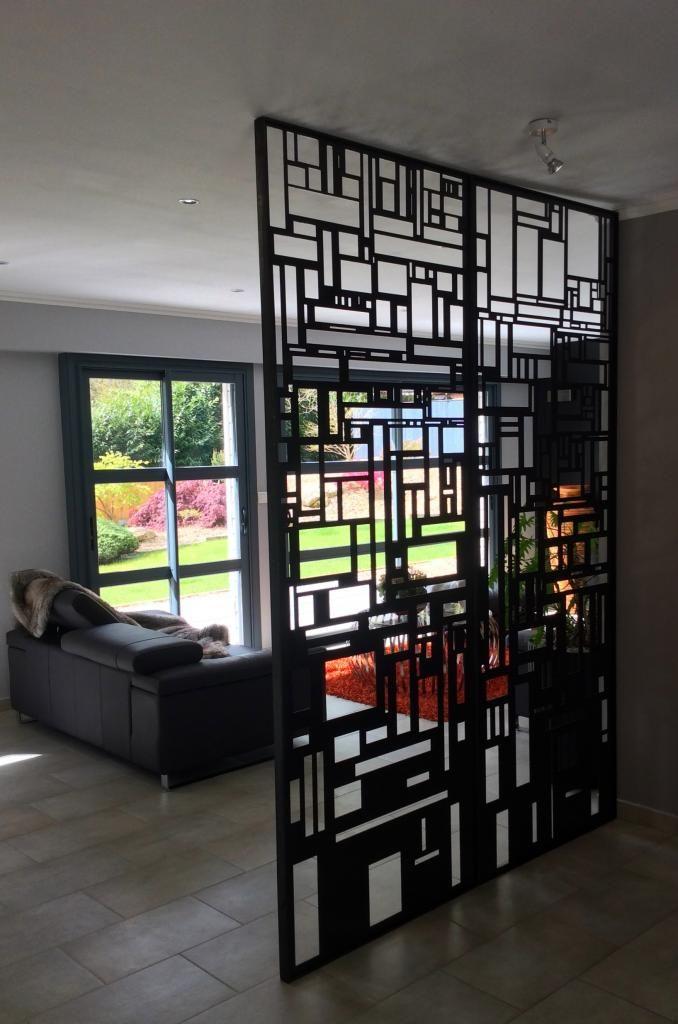 Cloison De Separation Metallique Art Metal Concept Home Home Decor Decor